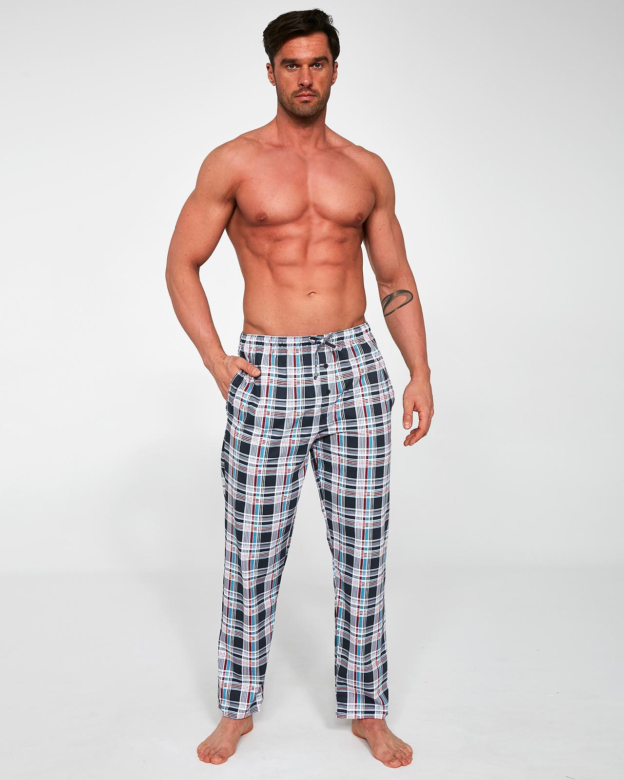 Pánske pyžamové nohavice Cornette 691/29 654502 grafit XL