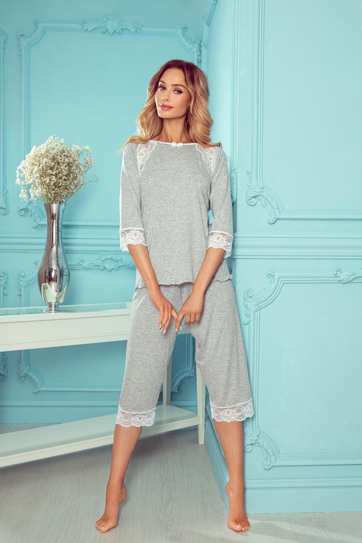 Dámske pyžamo Eldar First Lady Tina S-XL ecru L