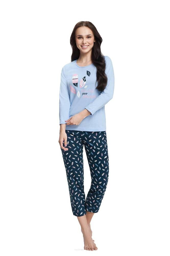 Dámske pyžamo Luna 612 7/8 4XL grey 4XL