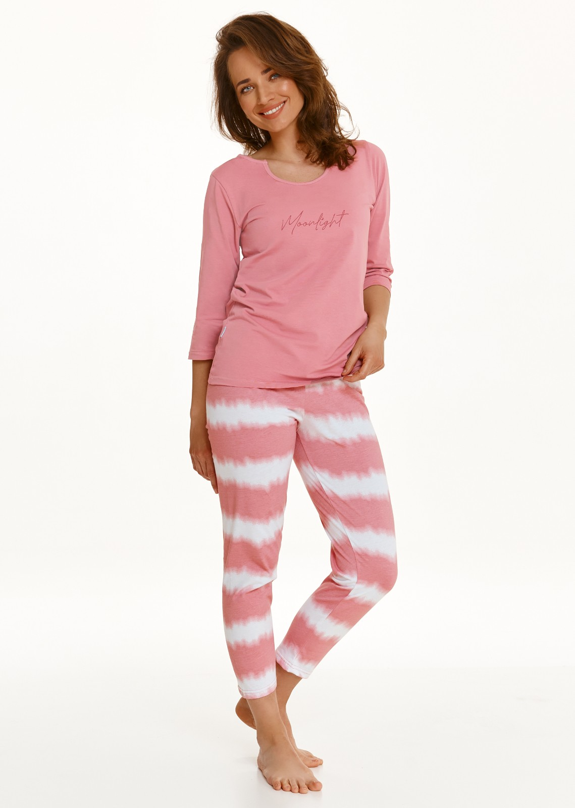 Dámske pyžamo Taro Carla 2567 DL / r S-XL Z'22 miętowy XL