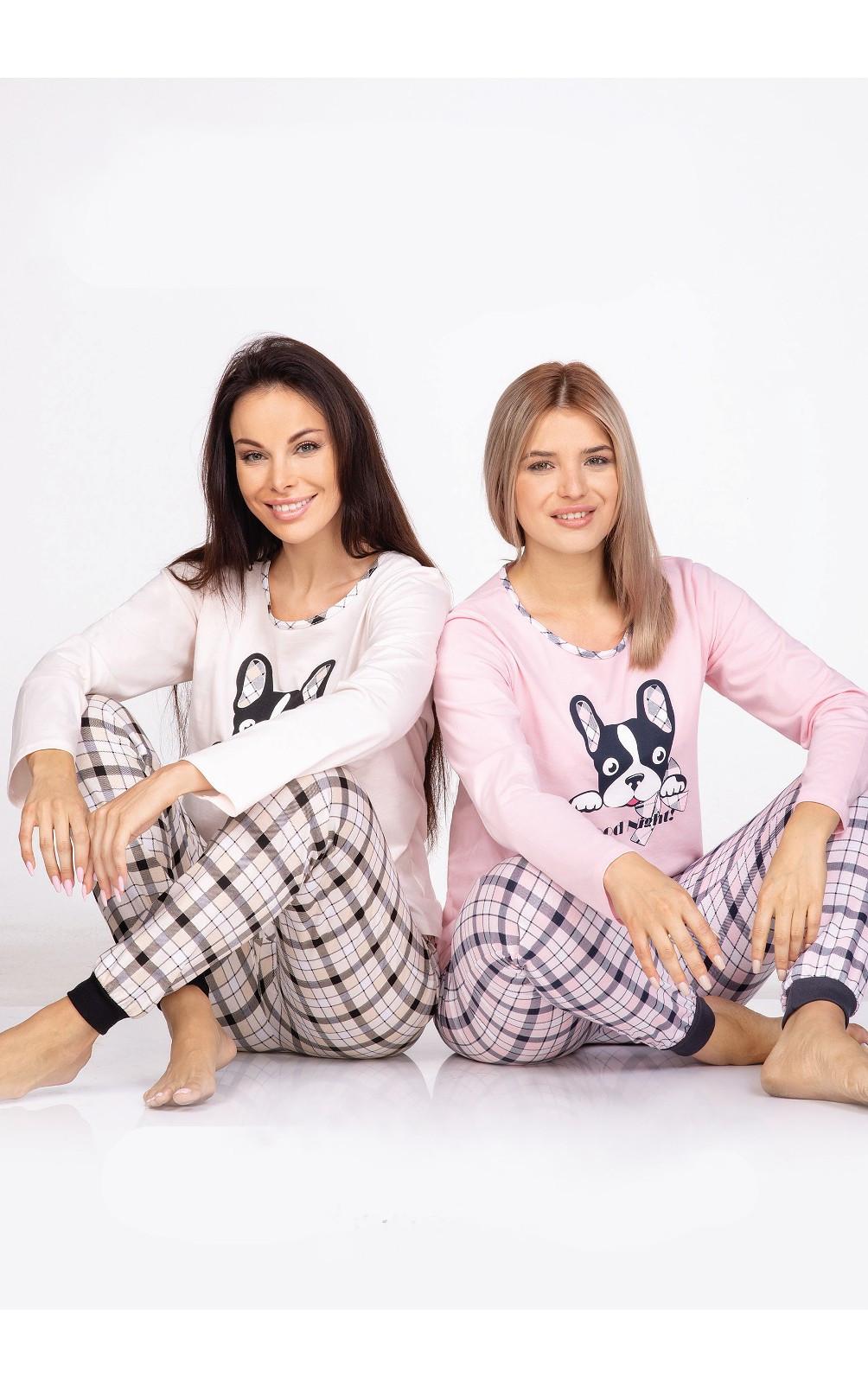 Dámske pyžamo Regina 971 w/r S-XL ecru XL