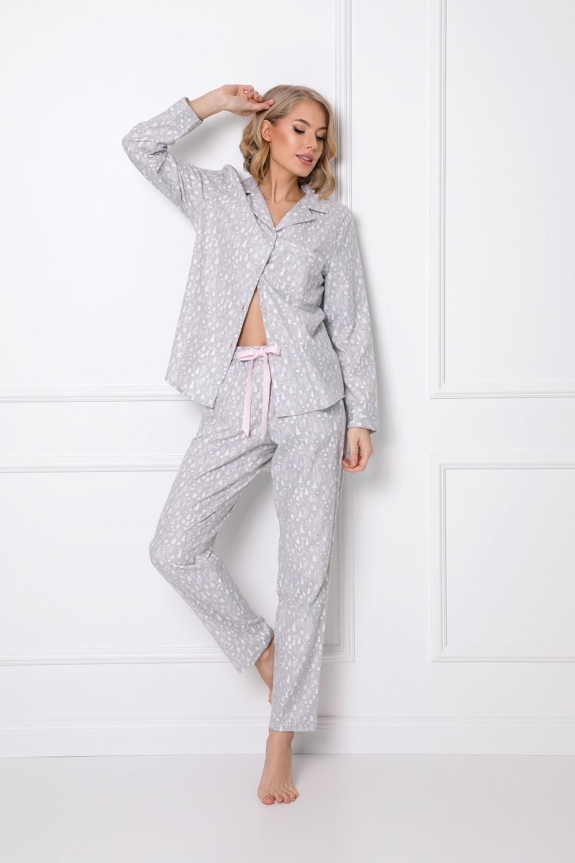 Aruelle Aria Dlhé dámske pyžamo XS-2XL beige xxl