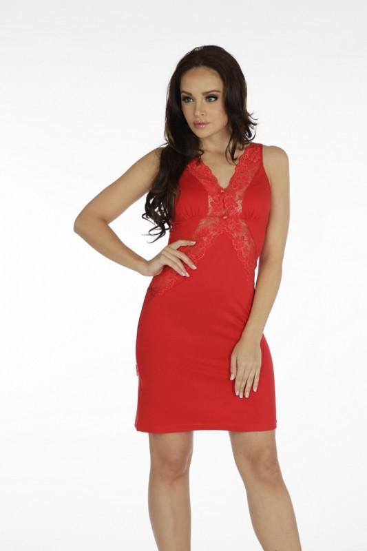 Noční košile Forex Agnes 879 Barva: červená, Velikost: S