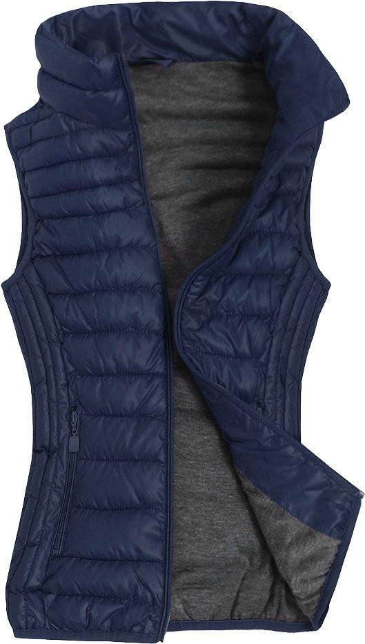 Tmavě modrá vesta (R2688BIG) tmavěmodrá 50