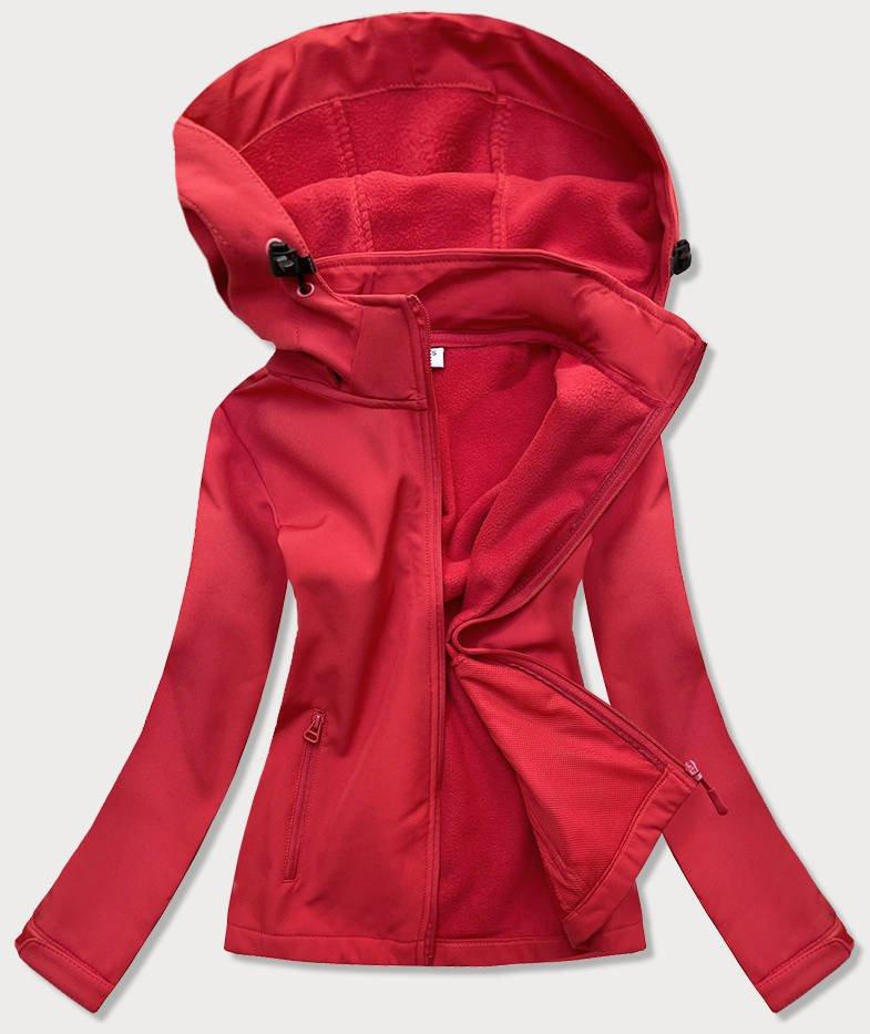 Červená dámska trekingové bunda-mikina (HH018-5) czerwony XL (42)