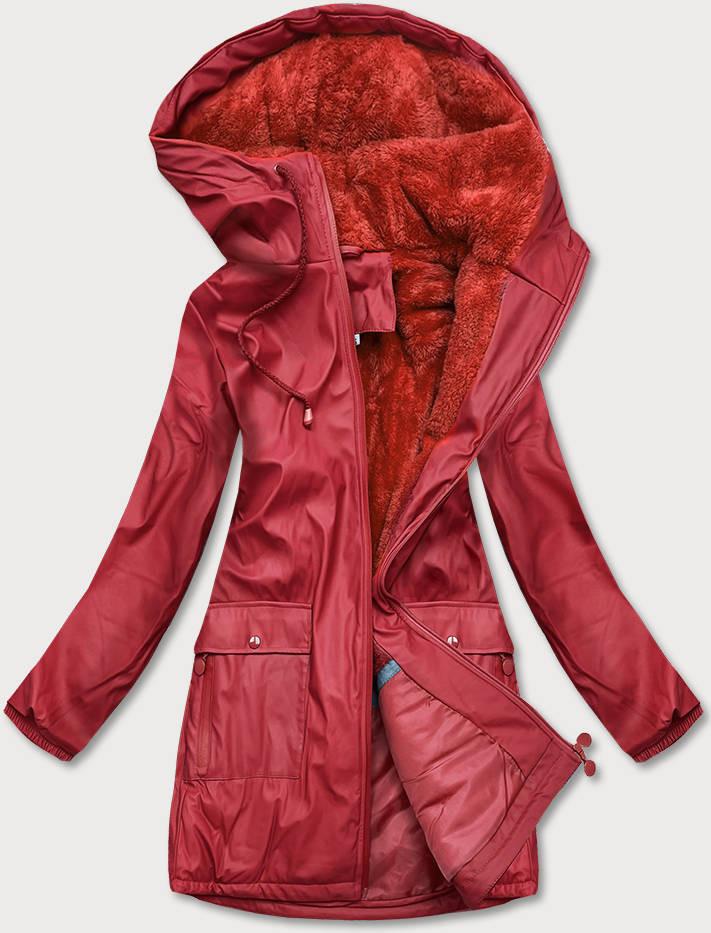 Červená nepremokavá dámska bunda Storm (H1000-19) czerwony S (36)