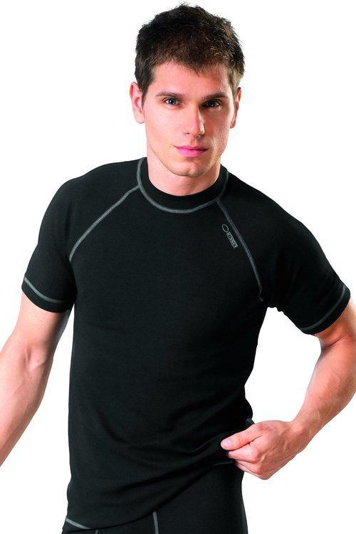 Pánske čierne tričko Classic V - WINNER čierna S