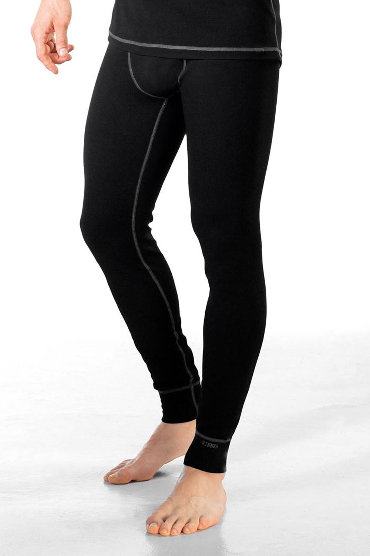 Pánské podvlékací kalhoty Classic IV černá S