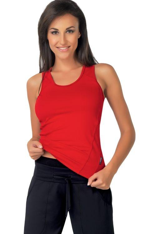 Fitness tielko Milenka I červené - VÝHERCA červená L