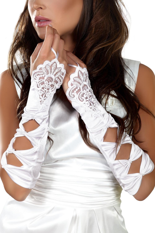 Dámské rukavičky Gloves 4 bílá S/L
