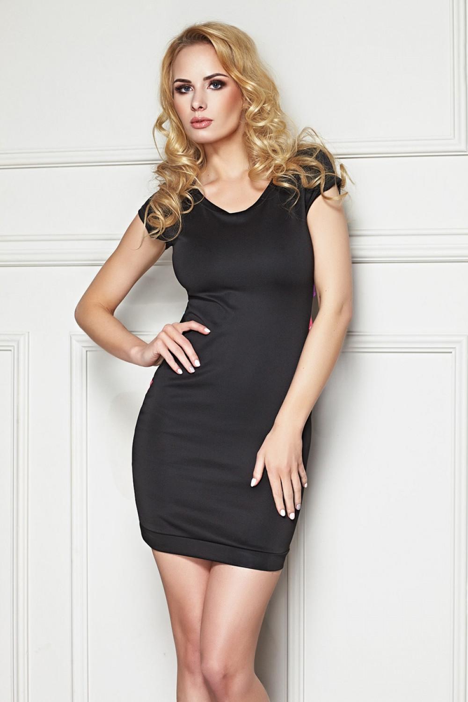 Dámske šaty Zafra - 7-HEAVEN čierna S / M