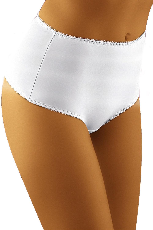 Stahovací kalhotky Optima bílá XL