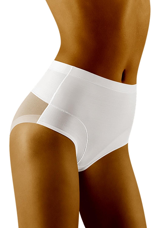 Stahovací kalhotky Uniqata white bílá M
