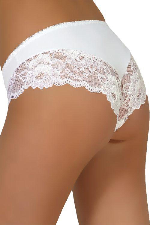 Dámské kalhotky 34 white bílá M