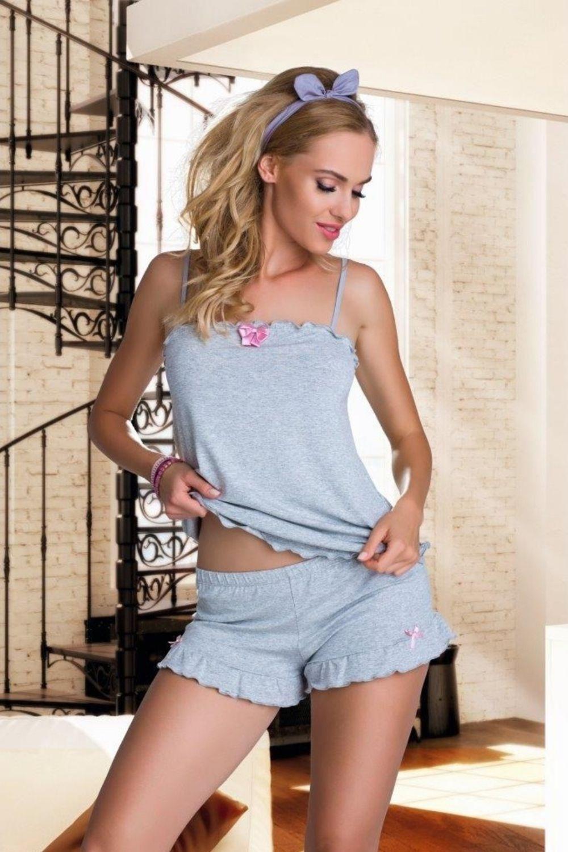 Dámske pyžamo Elian grey - ELDAR šedá XL