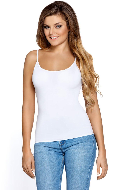 Dámská košilka Macadi white bílá XXL
