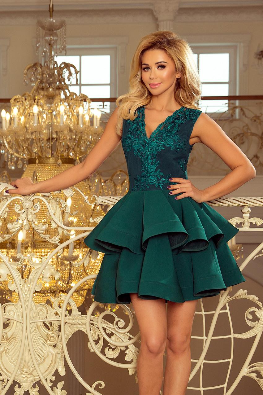 9df92f15d2a Dámské šaty 200-6 Barva  zelená
