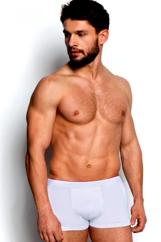 Pánske boxerky 18724 Buriti 00x white - HENDERSON biela M