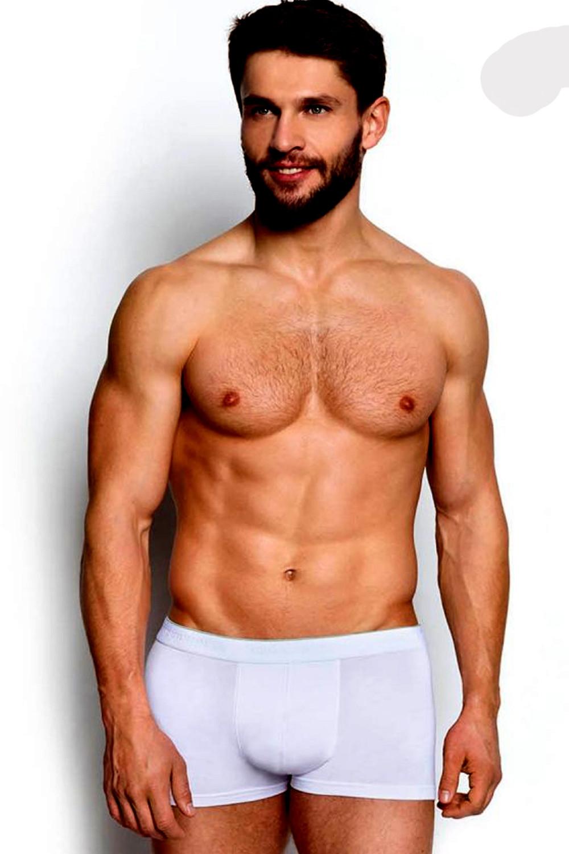 Pánske boxerky 34325 00x white - HENDERSON biela L