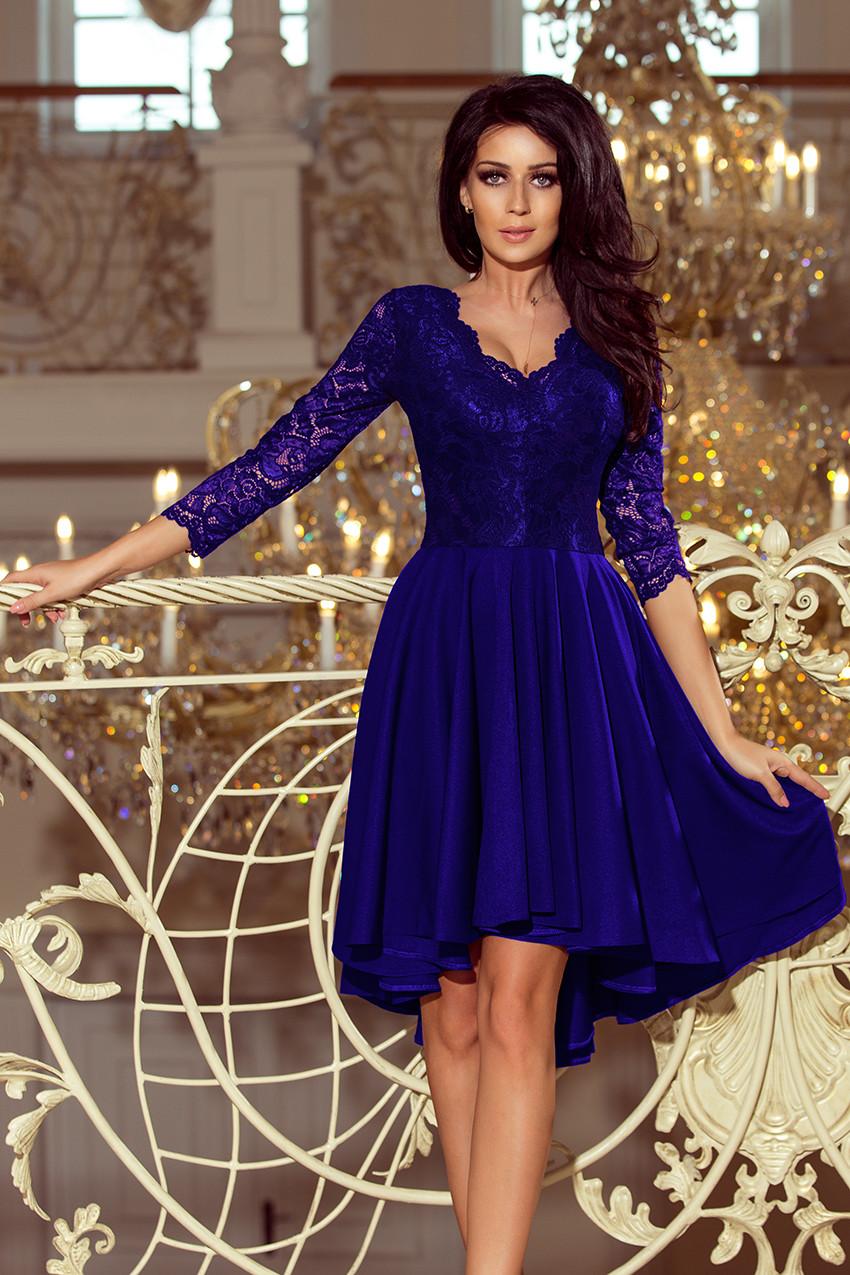 Dámske šaty 210-4 - NUMOCO kráľovská modrá XXL