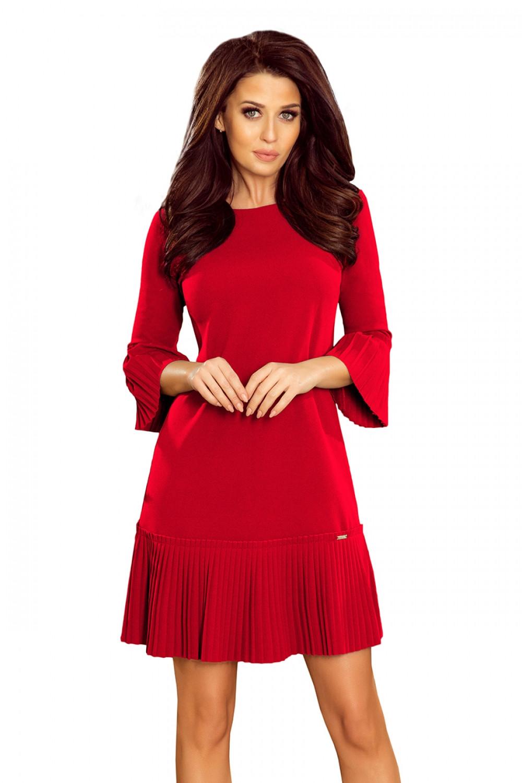 Dámske šaty 228-3 - NUMOCO červená XXL