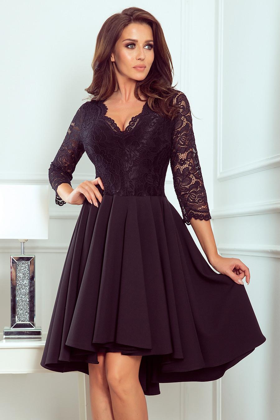 Dámske šaty 210-10 - NUMOCO čierna M