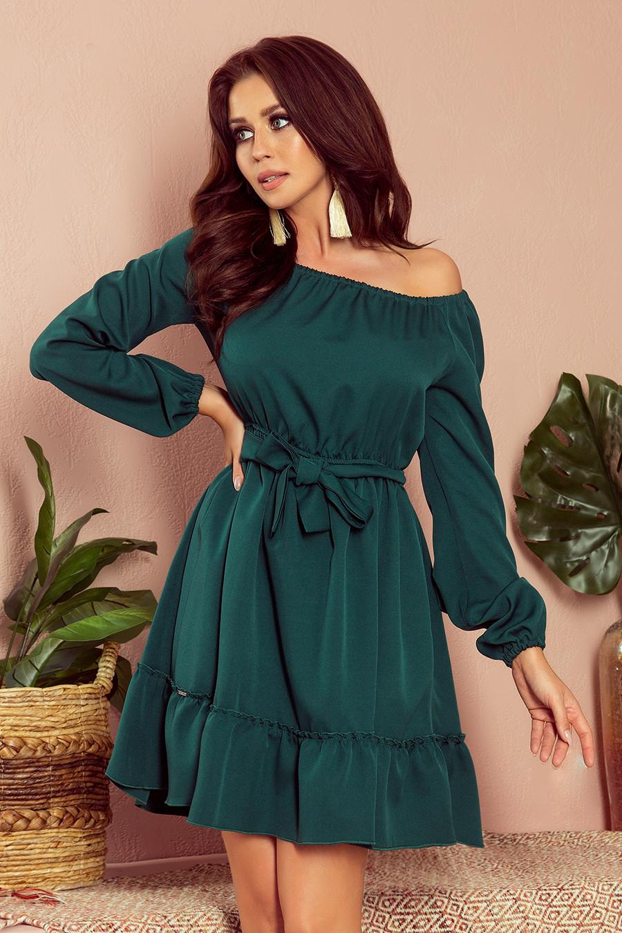 Dámske šaty 265-1 Daisy - NUMOCO zelená S
