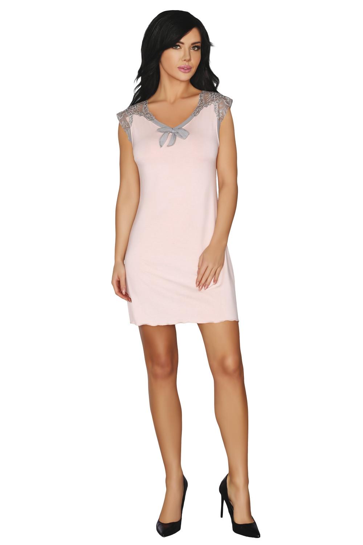Noční košile Moem růžová L/XL