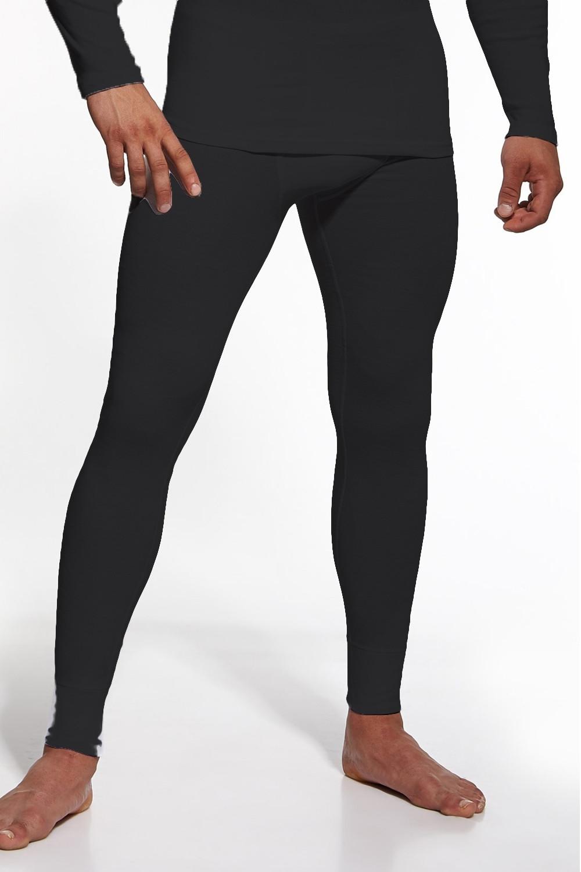 Pánske podvlékací nohavice Authentic plus black - Cornet čierna 4XL