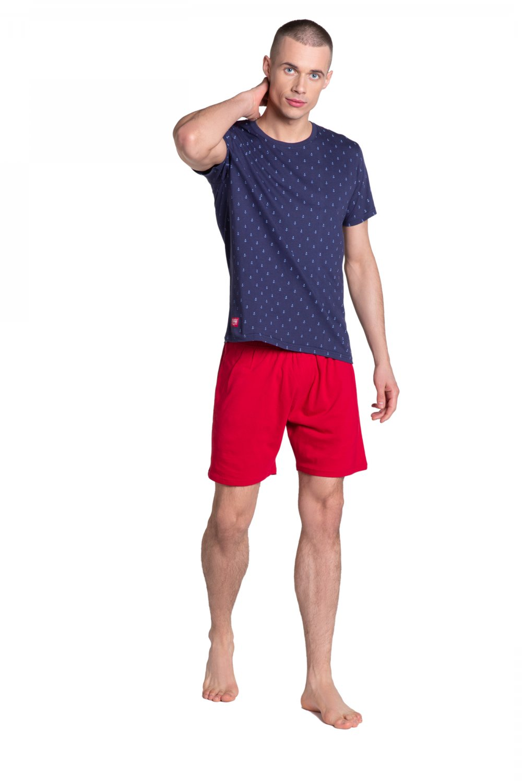 Pánské pyžamo 38866 - HENDERSON tmavě modrá L