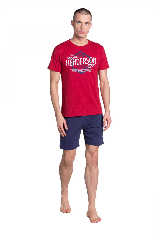 Pánske pyžamo 38869 - HENDERSON červená XXL