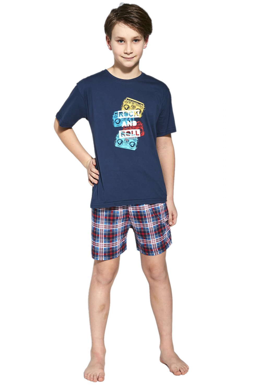 Chlapčenské pyžamo 790/91 Rock - Cornet tmavo modrá 134/140