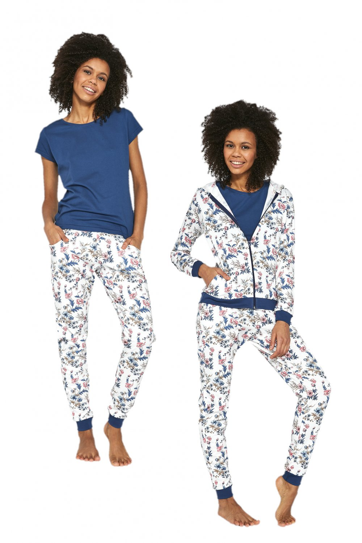 Dámske pyžamo 355/205 Kelly - Cornet krémová S