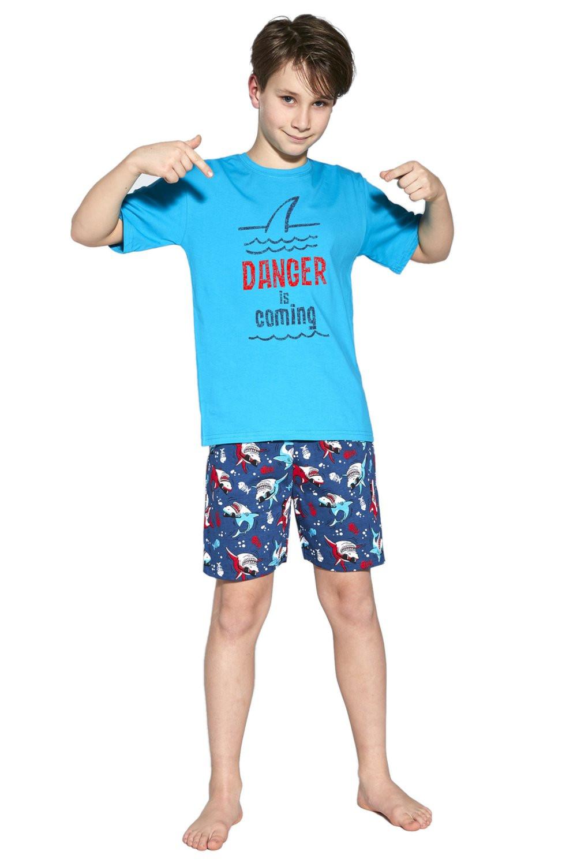 Chlapčenské pyžamo 790/94 Turkusowa - Cornet tyrkysová 134/140