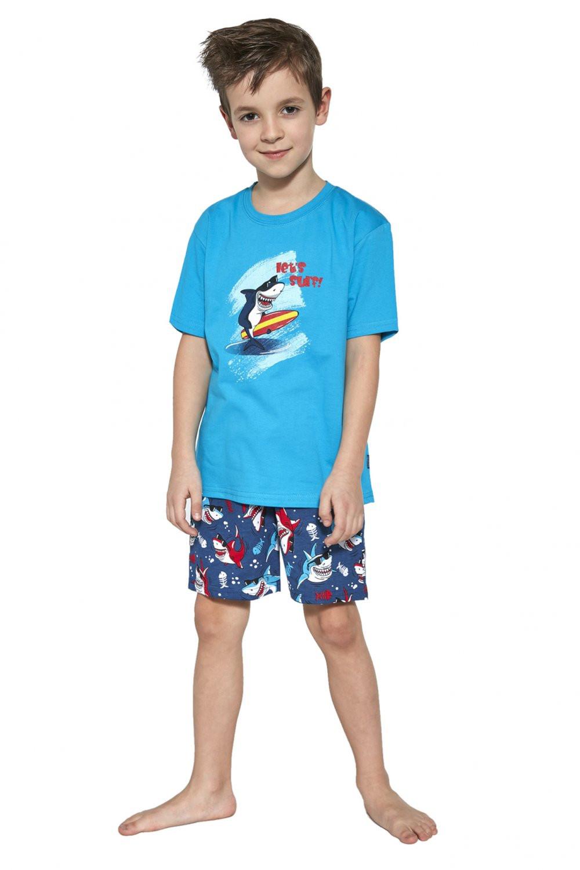 Chlapčenské pyžamo 789/90 - Cornette tyrkysová 110/116