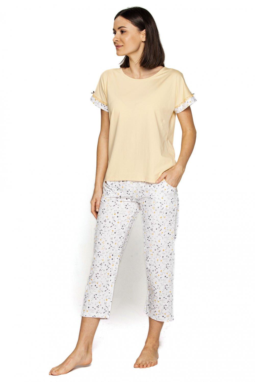 Dámske pyžamo 558 - CANA žlutá XL