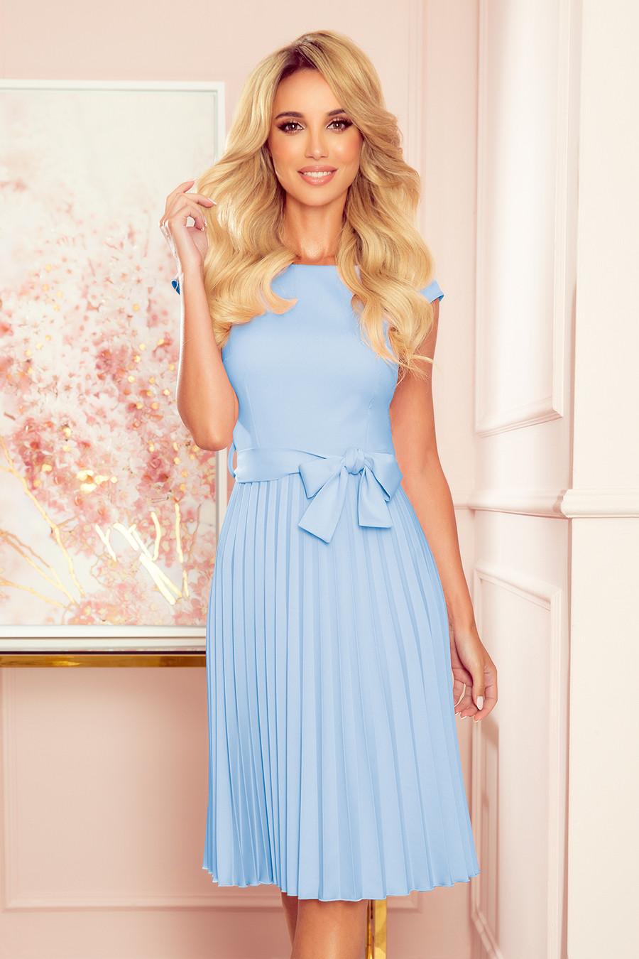 Dámske šaty 311-8 LILA - NUMOCO modrá XXL