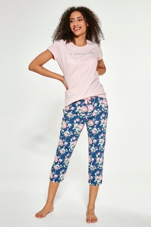 Dámske pyžamo 466/281 - Cornette ružová XXL
