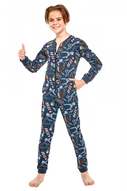 Chlapčenské pyžamo 185/125 Kids Barber 2 - Cornet 86/92