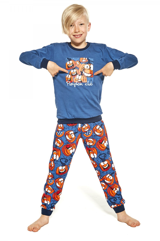 Chlapčenské pyžamo 776/123 Pumpkin jeans - Cornet 134/140