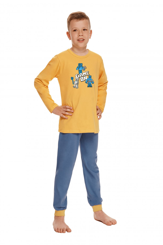Chlapčenské pyžamo 2624 Jacob - TARO žltá 134