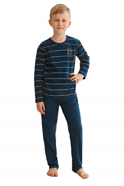 Chlapčenské pyžamo 2622 Harry dark blue - TARO tmavo modrá 134