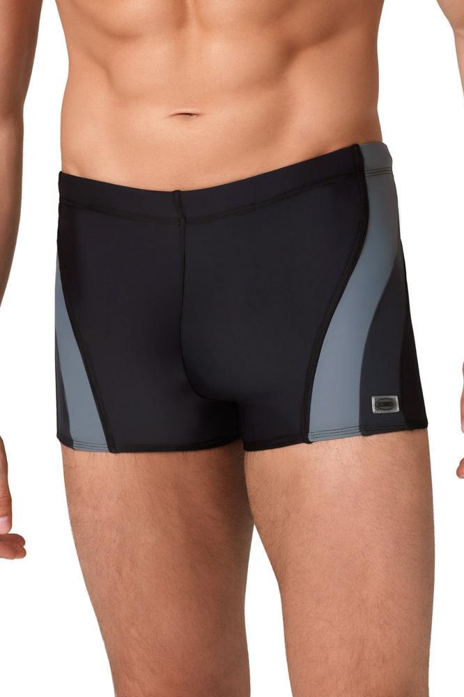 Pánske boxerkové plavky Philip čiernošedej Čierna M