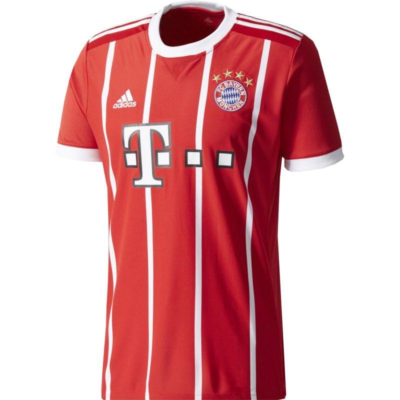 Adidas FC Bayern Munchen Domácí replika fotbalového dresu 2017/2018 M AZ7961 M