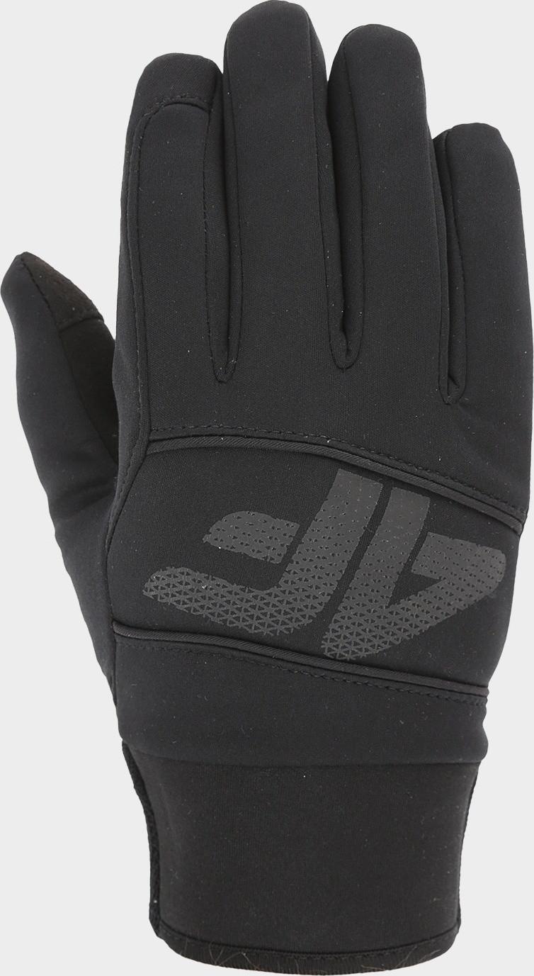 Softshellové rukavice 4F REU104 Čierne Cernay S