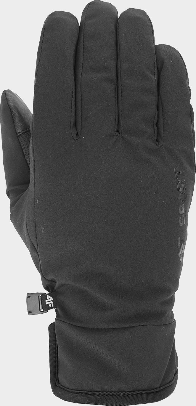 Unisex rukavice 4F REU100 Čierne Cernay S