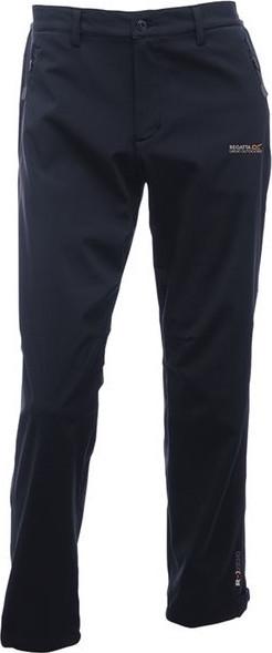 Pánske softshellové nohavice Regatta RMJ117R GEO SSHELL TRS II Black Cernay 30in