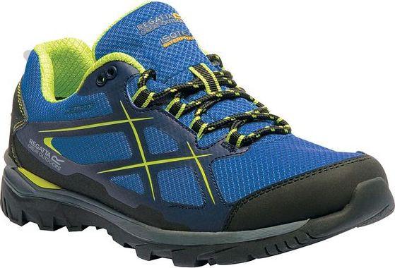 Pánska treková obuv REGATTA RMF489 Kota Low Modré modrá 41