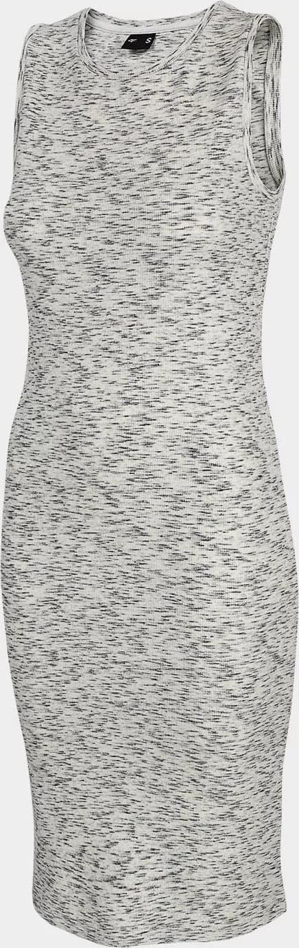 Dámske šaty 4F SUDD301 Šedé šedá M