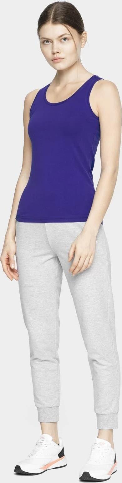 Dámske tričko bez rukávov 4F TSD306 fialová fialová XXL